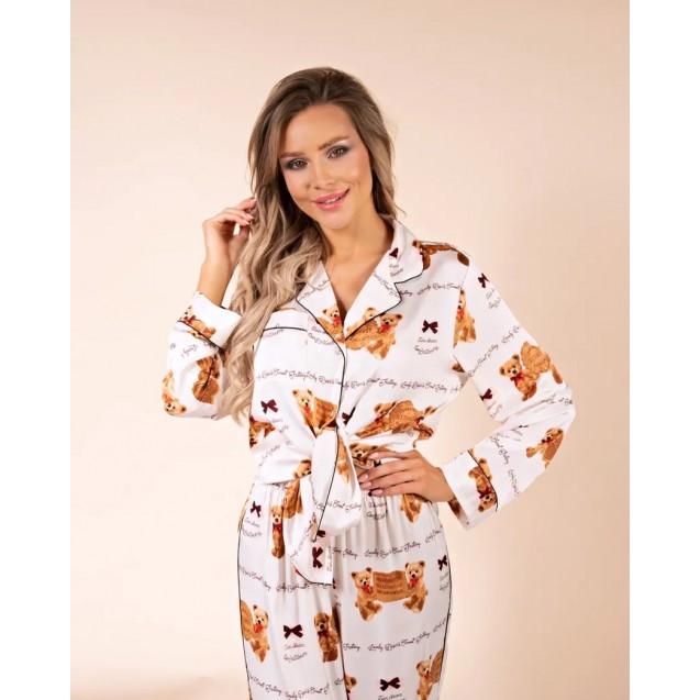 Пижама Luxe Медвежата арт.ZC155