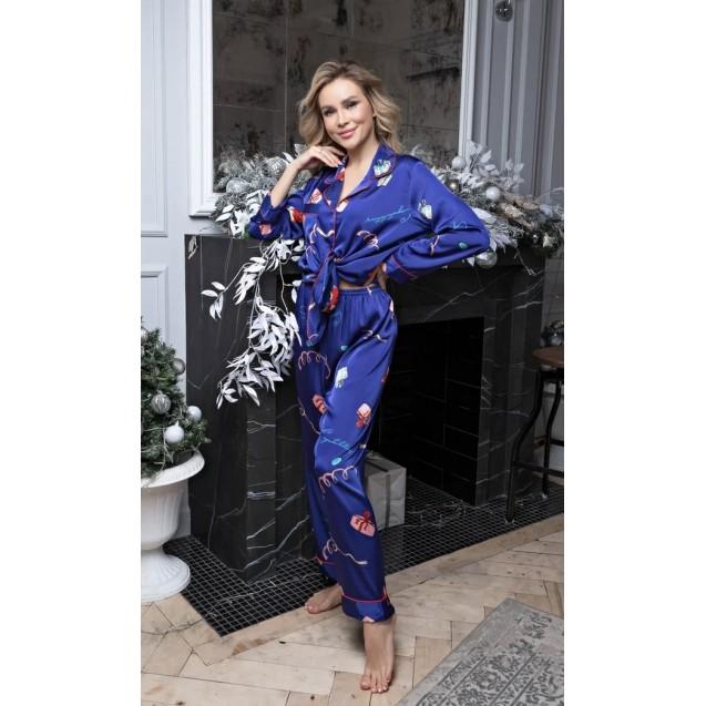 Пижама LUXE арт.ZC130 ЛИСИЧКА