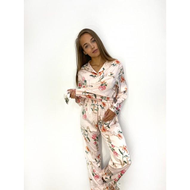 Пижама Цветочки LOVE ZC126